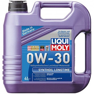 Масло моторное Liqui Moly Synthoil Longtime 0W-30