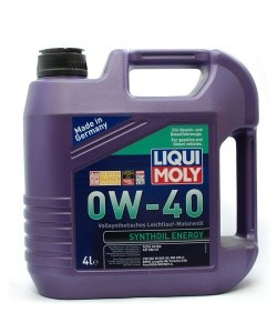 Масло моторное Liqui Moly Synthoil Energy 0W-40
