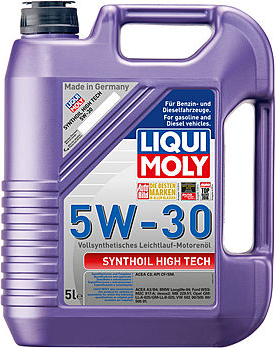 Масло моторное Liqui Moly Synthoil High Tech 5W-30