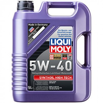 Масло моторное Liqui Moly Synthoil High Tech 5W-40