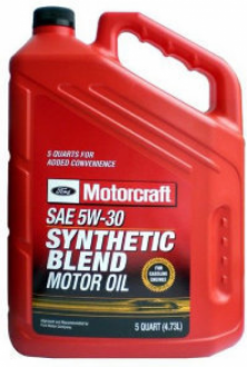 Масло моторное Ford Motorcraft Premium Synthetic Blend SAE 5W30